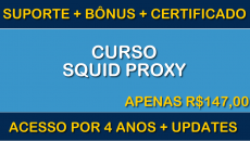 Curso de TI Online - Squid Proxy